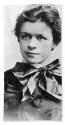 Mileva Maric (1875-1948) Beach Towel