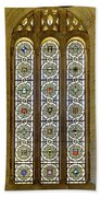 Military Insignia On Stained Glass - Meuse Argonne - East Beach Towel