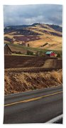 Mill Creek Rd Beach Towel