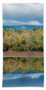Mill Pond Illusion Beach Towel