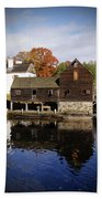 Mill Reflections Beach Towel