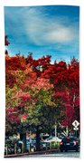 Mill Valley Autumn Beach Towel
