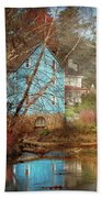Mill - Walnford, Nj - Walnford Mill Beach Towel