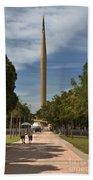 Millennium Monument Beach Towel