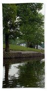 Miller Park Lake Beach Towel