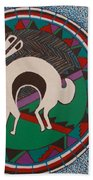 Mimbres Inspired #9a Beach Towel