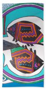 Mimbres Inspired #3a Beach Towel