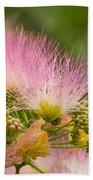 Mimosa Flower Beach Towel