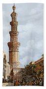 Minareto E Mercato Beach Towel