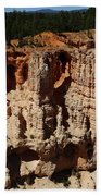 Mind Blowing Bryce Canyon View Beach Towel