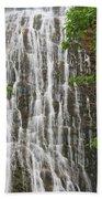 Mingo Falls Closeup Beach Towel