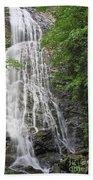 Mingo Falls In The Spring Beach Towel