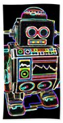 Mini D Robot Beach Towel