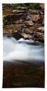 Mini Falls On The Peterskill I Beach Towel