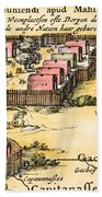 Minisink Village, 1650s Beach Towel