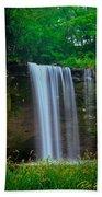 Minneopa Falls Beach Towel