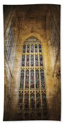 Minster Window Beach Towel