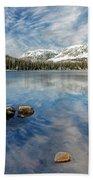 Mirror Lake Beach Towel by Scott Read