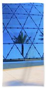 Mirror Of Palms Beach Towel