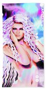 Miss Inter-dimensional 2089 Beach Towel
