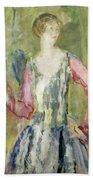 Miss Nancy Cunard Beach Towel by Ambrose McEvoy