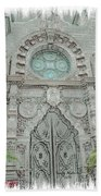 Mission Inn Chapel Door Beach Towel