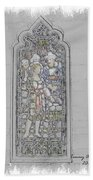 Mission Inn Chapel Stained Glass Beach Towel