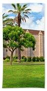 Mission San Gabriel Arcangel, San Gabriel, California Beach Towel