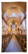 Mission San Jose Chapel Glow Beach Towel