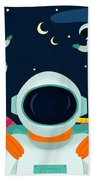 Mission To Mars Beach Towel