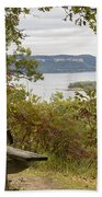 Mississippi River Lake Pepin 8 Beach Towel