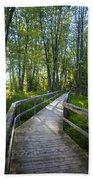Mississippi Riverwalk Trail - Carleton Place, Ontario Beach Towel