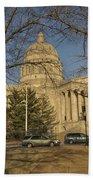 Missouri Capital Building Jefferson City Dsc00653 Beach Towel