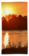 Missouri River In St. Joseph Beach Towel