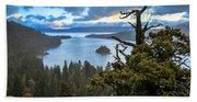 Mistic Tahoe Sunrise Beach Towel