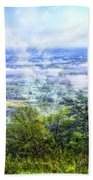 Mists In The Valley Beach Towel