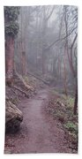 Cloud Forest- Mount Sutro Beach Towel