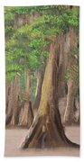 Misty Forrest Beach Towel