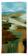 Misty Hills Beach Towel