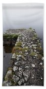 Misty Lough Erne Beach Towel