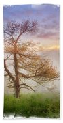 Misty Mountain Beach Towel