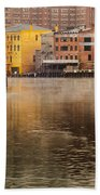 Misty River Cleveland Beach Towel