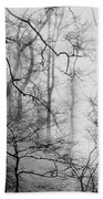 Misty Woods, Whitley Mill Beach Towel