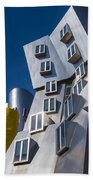 Mit Stata Center Cambridge Ma Kendall Square M.i.t. Beach Towel