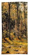 Mixed Forest Beach Towel