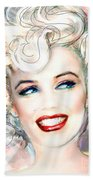 Mmother Of Pearl P Beach Towel