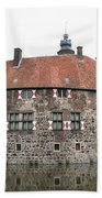 Moated Castle Vischering Beach Towel