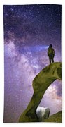 Mobius Milky Way Beach Sheet