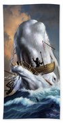 Moby Dick 1 Beach Towel