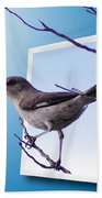 Mockingbird Branch Beach Towel